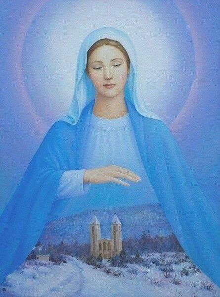 Mensagem de Nossa Senhora em 2 de janeiro de 2017
