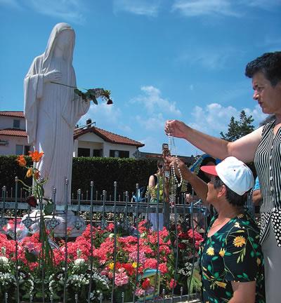 Mensagem de Nossa Senhora ao vidente Ivan no dia 21 de agosto de 2014 em Pádua, Itália